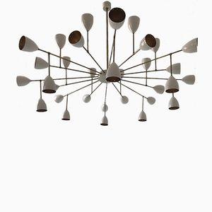 Vintage Sputnik Chandelier from Stilnovo, 1970s