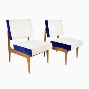 Italian Chairs, 1960s, Set of 2