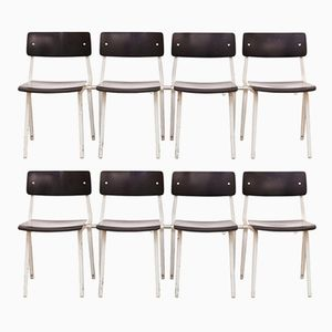 Theater Chairs by Friso Kramer for Ahrend de Cyrkel, 1950s, Set of 10