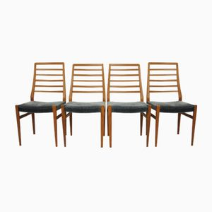 Danish Chairs, 1970s, Set of 4