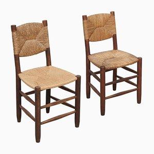 Stühle von Charlotte Perriand, 1950er, 2er Set