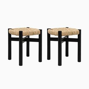 Stools by Charlotte Perriand for Meribel, 1950s, Set of 2