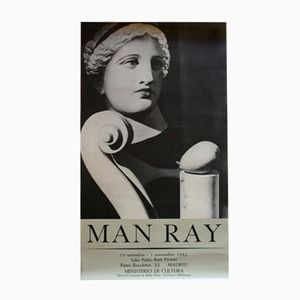 Poster Man Ray, 1982