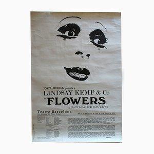 Poster dello spettacolo Flowers, 1978