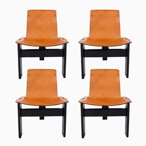 Chaises de Salon Tre 3 par Angelo Mangiarotti pour Skipper and Pollux, 1978, Set de 4