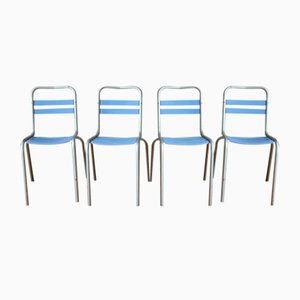 Vintage Chairs by Xavier Pauchard for Tolix, Set of 4