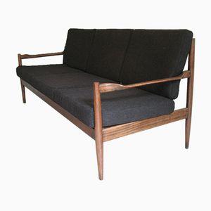 Schwarzes Sofa, 1950er