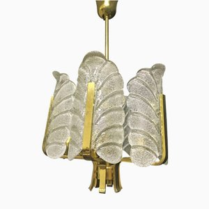 Murano Chandelier by Carl Fagerlund for Orrefors, 1960s