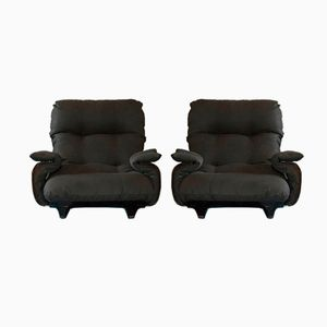 Marsala Lounge Chairs by Ligne Roset, 1970s, Set of 2