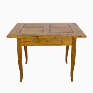 Biedermeier Dining Table Table in Maple, 1830s