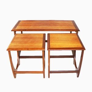 Nesting Tables from G-Plan, 1970s