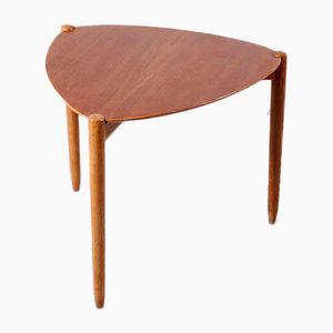 Tavolino in teak e quercia, anni '50