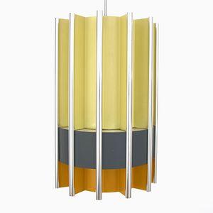 Lampada a sospensione Mid-Century moderna di Bent Karlby per Lyfa, anni '60