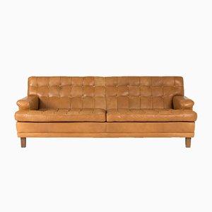 Leder Sofa von Arne Norell, 1960er