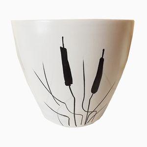 Vintage Keramik Blumentopf von Milet für Sèvres