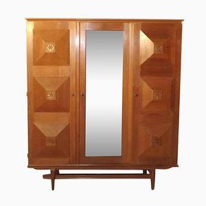 Art Deco Kleiderschrank von Gaston Poisson