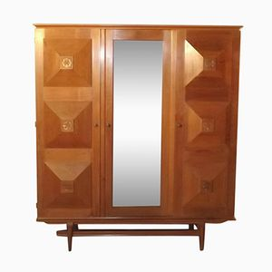 Art Deco Wardrobe from Gaston Poisson