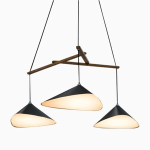 Emily Group of Three Semi Matte Pendant by Daniel Becker