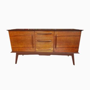 Mid-Century Walnut Sideboard by Alfred Cox, 1950s