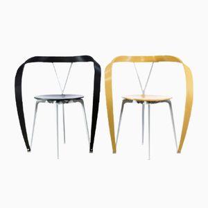 Revers Stühle von Andrea Branzi für Cassina, 1993, 2er Set