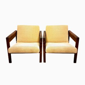 SZ25 Lounge Chairs by Hein Stolle for 't Spectrum, 1950s, Set of 2