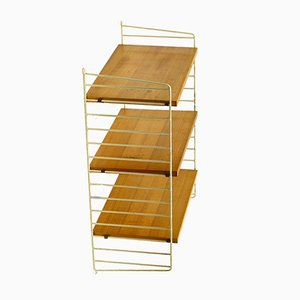 "Ladder Shelf by Kajsa & Nils ""Nisse"" Strinning for String, 1950s"