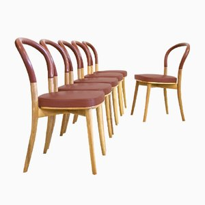 Side Chairs by Gunnar Asplund for Cassina, 1980s, Set of 6