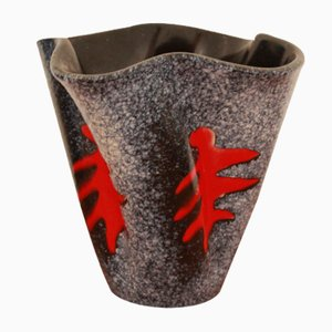 Vase en Céramique par Elchinger, 1950s