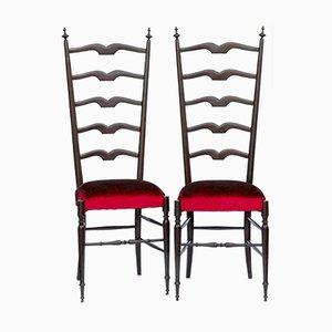 Chiavari Stühle, 1950er, 2er Set