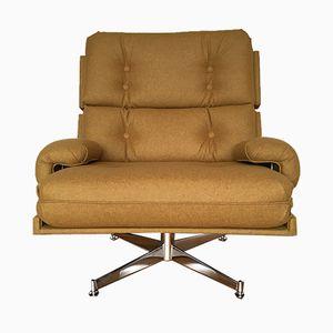 Fauteuil Pivotant Kohinoor par Howard Keith pour HK Furniture, Royaume-Uni, 1970s