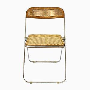 Plia Folding Chair by Giancarlo Piretti for Castelli, 1974