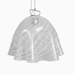 Fazzoletto Murano Glass Pendant by J. T. Kalmar, 1960s