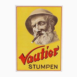 Affiche Vautier Vintage, Allemagne