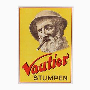 Deutsches Vintage Vautier Poster