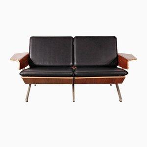 Model FM50 Two-Seat Leather Sofa by Cornelis Zitman for Pastoe, 1960s