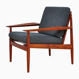 Mid-Century Danish Armchair by Arne Vodder for Glostrup