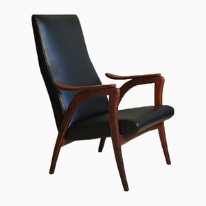 Vintage Teak Lounge Chair