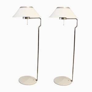 Vintage Mars Floor Lamps from Ateljé Lyktan, Set of 2