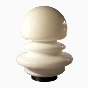 Opaline Glass Table Lamp from Mazzega, 1970s