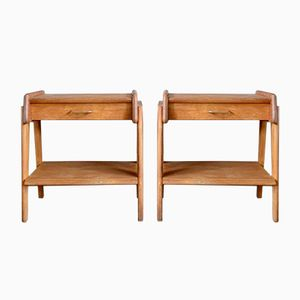 French Reconstruction Bedside Tables, Set of 2