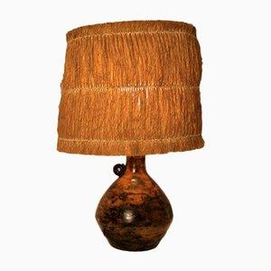 Lampada in ceramica di Jacques Blin, anni '50
