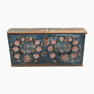 Swedish Wedding Chest, 1846