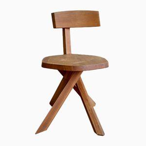 S34 Stuhl von Pierre Chapo, 1960er