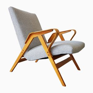 Mid-Century Lounge Chair from Tatra, 1960s