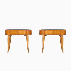Mid-Century French Nightstands, 1960s, Set of 2