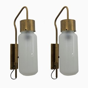LP10 Bidone Wandlampen von Luigi Caccia Dominioni für Azucena, 1958, 2er Set