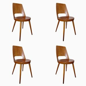 Mondor Chairs by Baumann, 1960s, Set of 4