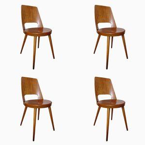 Mondor Stühle von Baumann, 1960er, 4er Set