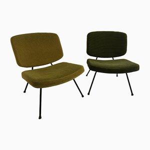 CM190 Stühle von Pierre Paulin für Thonet, 1957, 2er Set