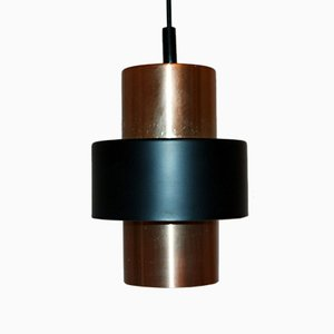 Copper-Colored Pendant by Jo Hammerborg for Fog & Mørup, 1960s